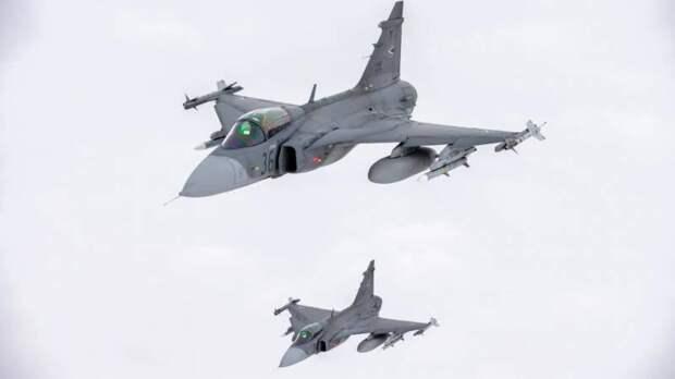Состояние и перспективы шведского парка истребителей JAS 39 Gripen
