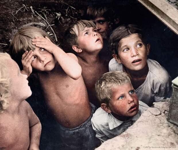 18 известных исторических фотографий вцвете