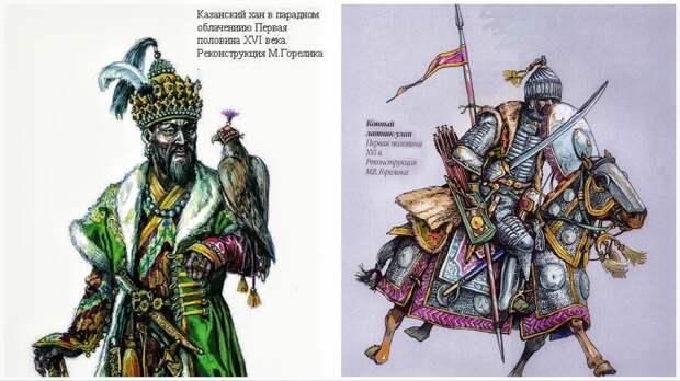 Реконструкции Казанского ханства М.В. Горелика