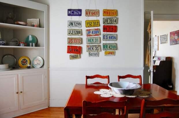 Коллекции на стенах (подборка)