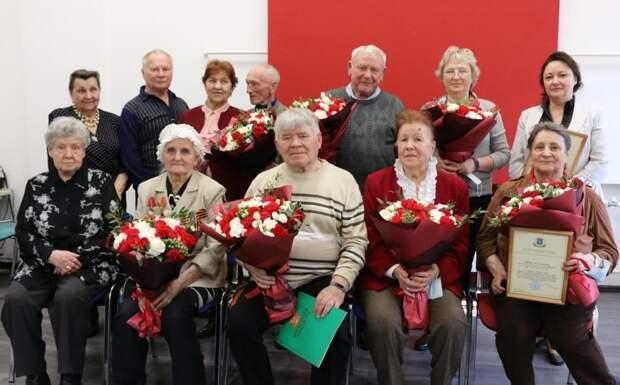 В Щукине наградили членов объединения «Непокоренные»