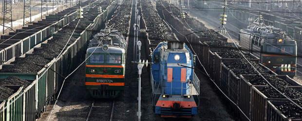 После захвата составов с углем Россия перекрыла поставки на Украину