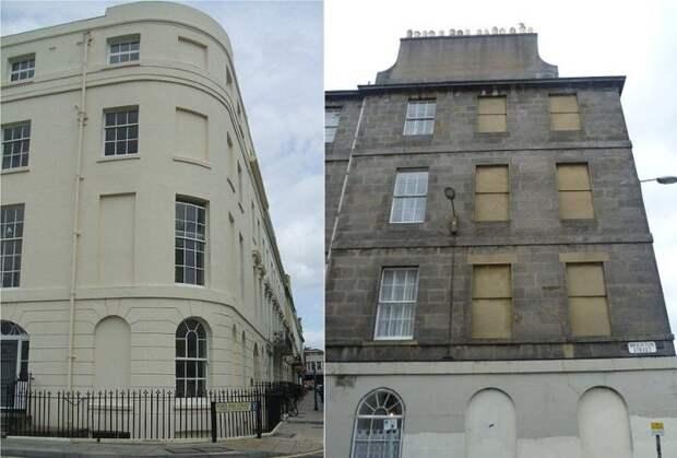 Замуровали демоны: Почему в Англии в зданиях окна заложены кирпичом