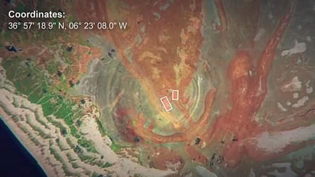 У побережья Испании обнаружили гигантские подводные структуры