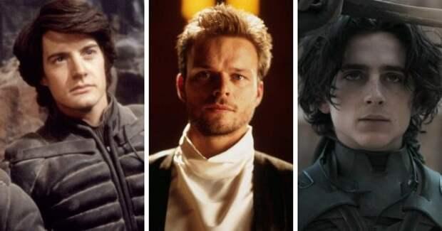 Персонажи «Дюны» в трёх разных экранизациях