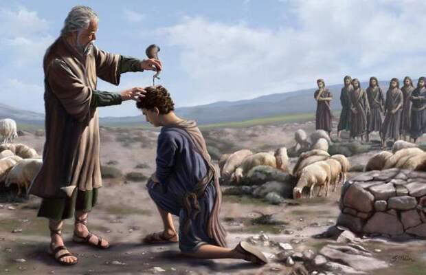 помазание на царство