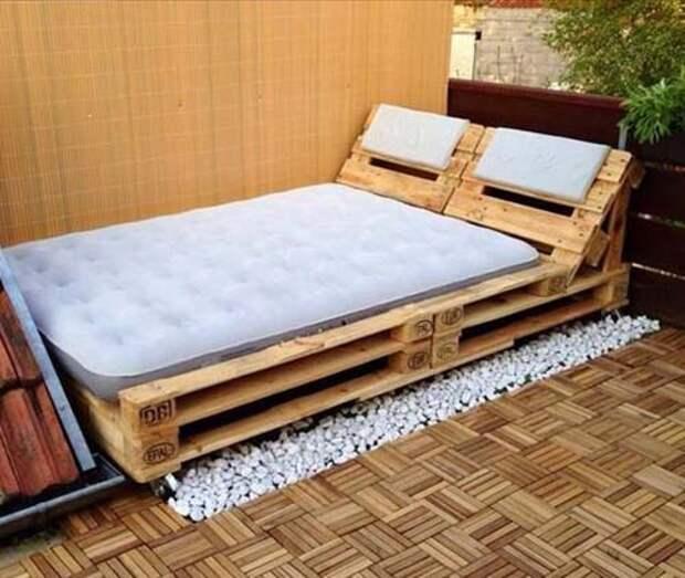 Новая мебель из поддонов (подборка)