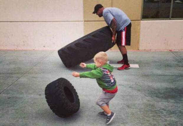 Родители, которые знают толк в воспитании детей (22 фото)