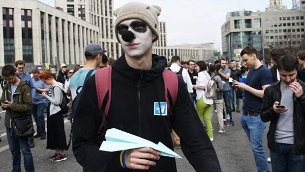 Либерасты использовали митинг в поддержку Telegram в своих целях