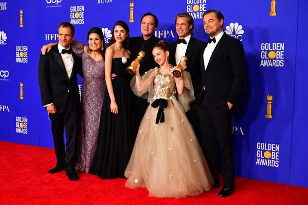 Фильм Квентина Тарантино «Однажды… в Голливуде» получил «Золотой глобус» как лучшая комедия