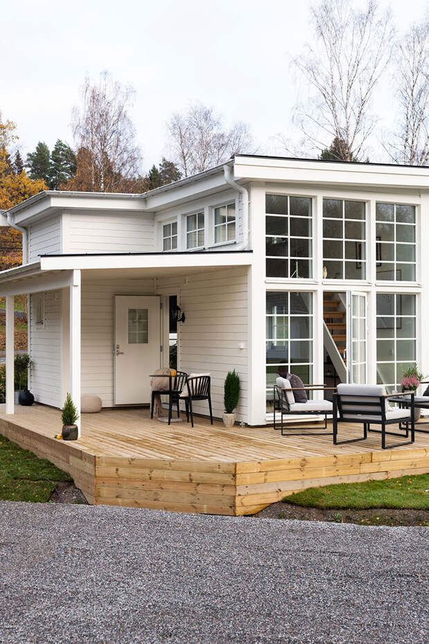 Крошечный, зато свой — очень маленький дом в Швеции (33 кв. м)
