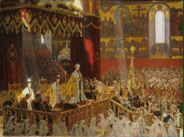 Коронация императора Николая Второго: уникальные цветные фото