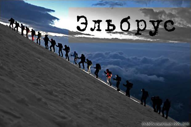 Склоны Эльбруса с высоты ОРЛИНОГО полета...