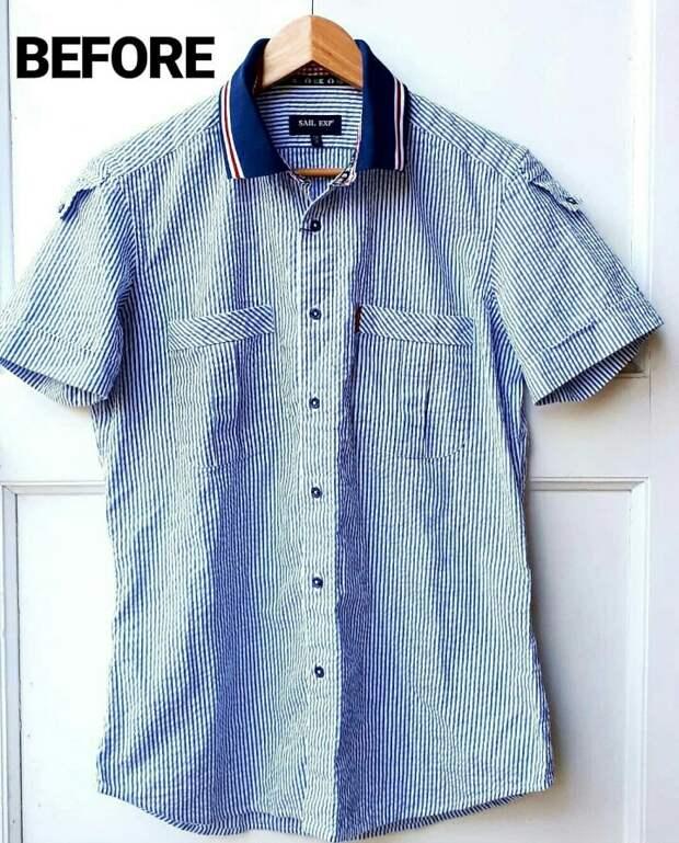 Костюм из рубашки