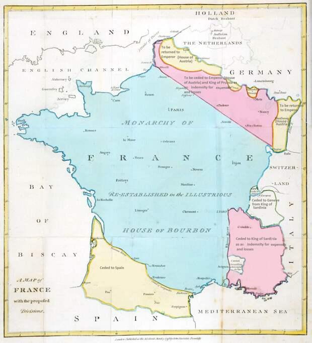 План раздела Франции 1793