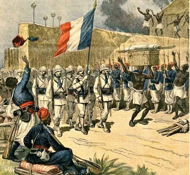 Франция своими «осколками» не разбрасывается
