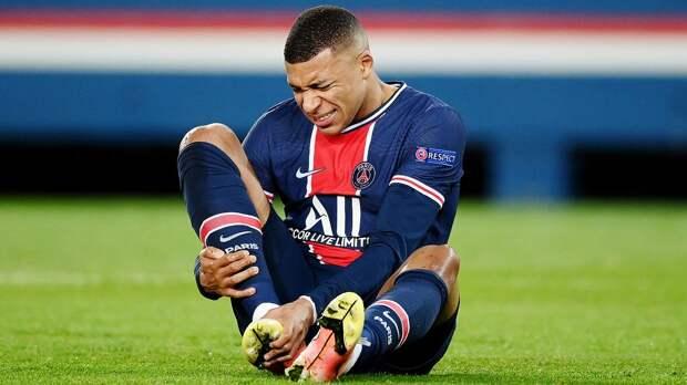 Мбаппе пропустит матч «ПСЖ» с «Лансом» из-за травмы