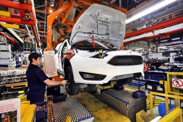 Заводы Ford Sollers перешли на пятидневку