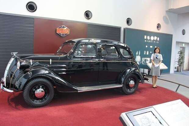 Первый седан Тоёды — модель AA honda, suzuki, toyota, авто, автоистория, автомобили, япония, японские автомобили