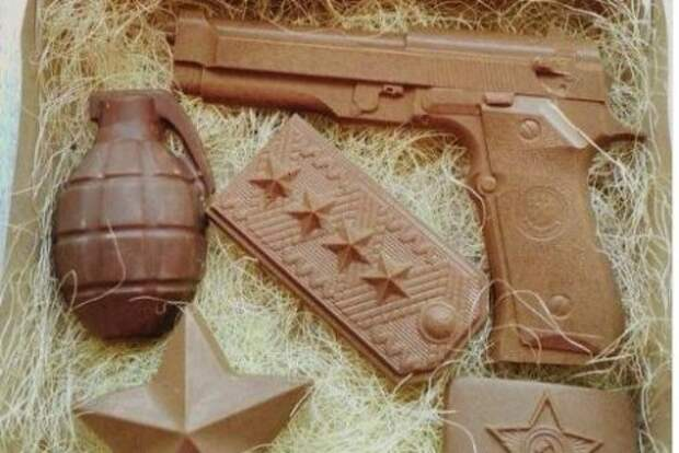В крымской столице можно купить подарочный набор «Шоколадные деды»