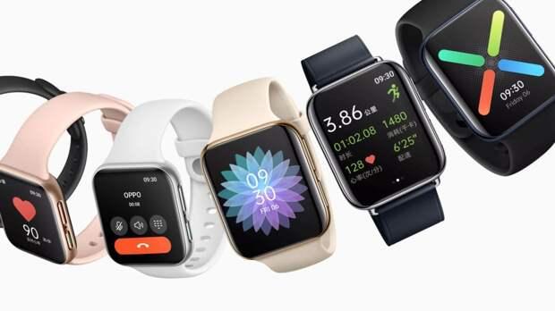 Oppo представила конкурента Apple Watch – Oppo Watch