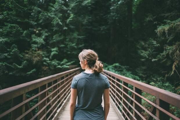 Девочка, Лица, Ходьба, Пешеходный Мост, Пересечения