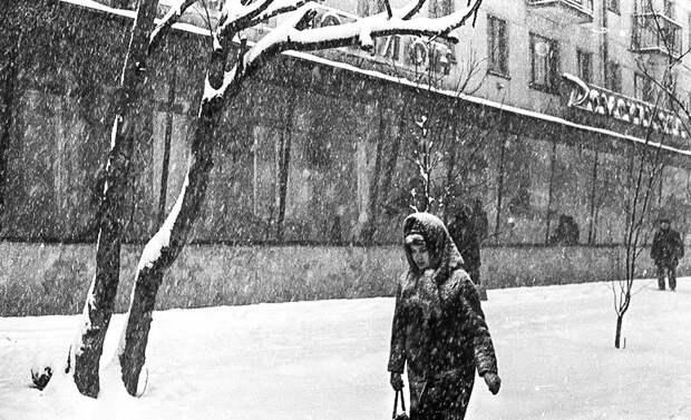Один советский снегопад (ФОТО)