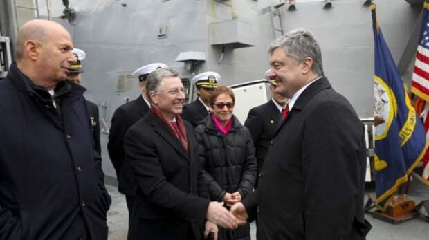 Итоги встречи Порошенко и Волкера: президент Украины послал России «важный сигнал» с борта американского эсминца