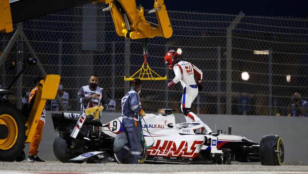 Мазепин - худший по итогам первой практики Гран-при Испании