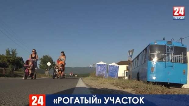 Севастопольцы вынуждены голосовать за светлое будущее в старом ржавом троллейбусе