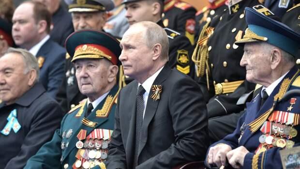 Путин заявил, что ему понравился парад Победы на Красной площади