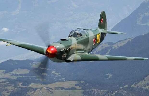 Почему лётчики люфтваффе так боялись советских истребителей с алым носом