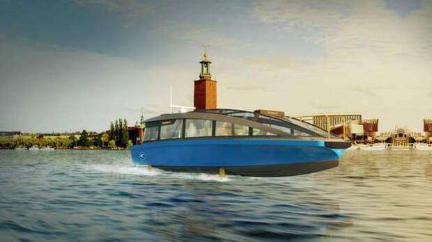 Шведы спустят на воду первый электрический паром