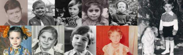 Попробуйте по детским фото и трём подсказкам узнать этих 15 отечественных знаменитостей