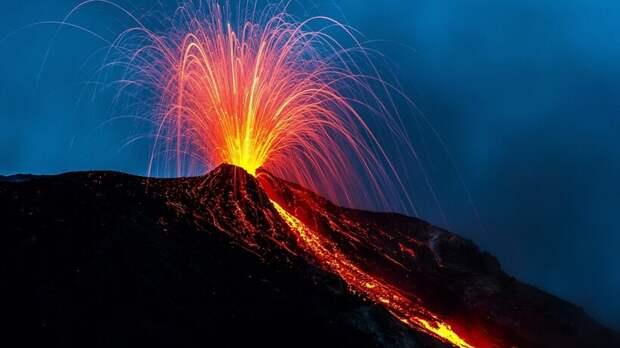 Какова сила извержения подводного вулкана