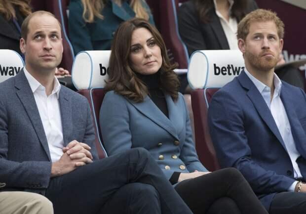 Названо условие прекращения вражды между принцами Уильямом и Гарри