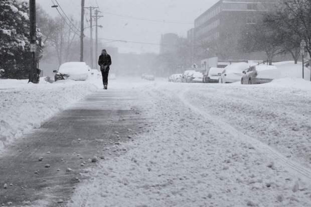 Завтра на Крым снова обрушатся снегопады