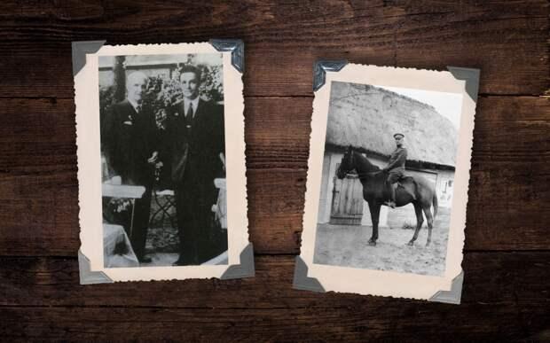 Гетман Павел и Гетман Даниил Скоропадские; Скоропадский на коне 1916 год. Коллаж © L!FE Фото: © Wikipedia.org