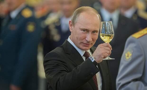 Стало известно как Путин отметит день рождения