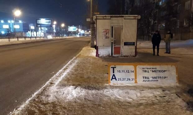 Глава Ижевска признал неоперативность замены остановочных павильонов