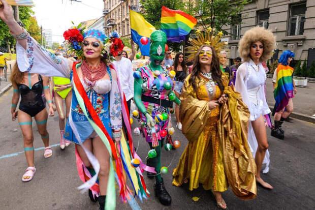 Украинские геи назвали русский «языком захватчика»