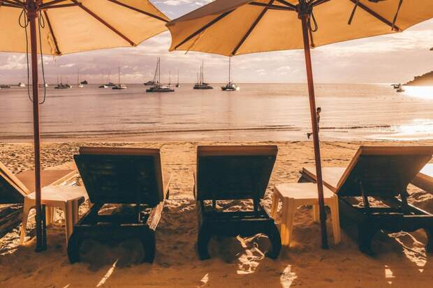 Уникальные мгновения, когда пляжи отдыхают от отдыхающих