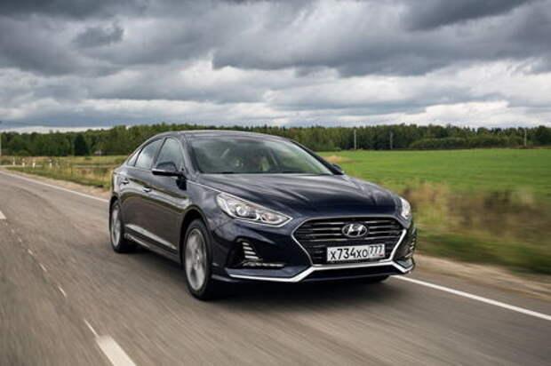 Hyundai Sonata: исполнение на бис