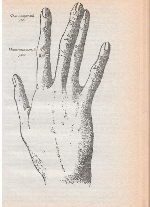 Признаки философского склада ума и денежной удачи на пальцах
