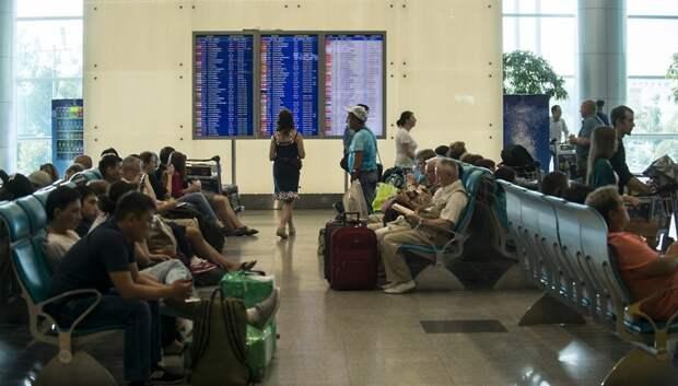 Около 50 рейсов задержали и отменили в аэропортах Московского региона