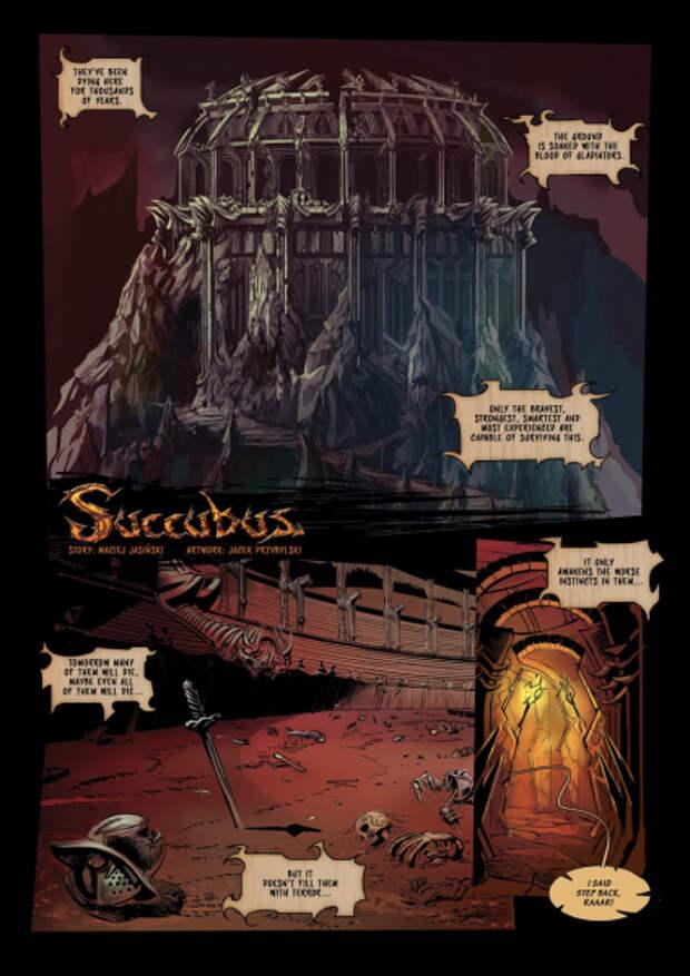 В Succubus добавят внутриигровой комикс