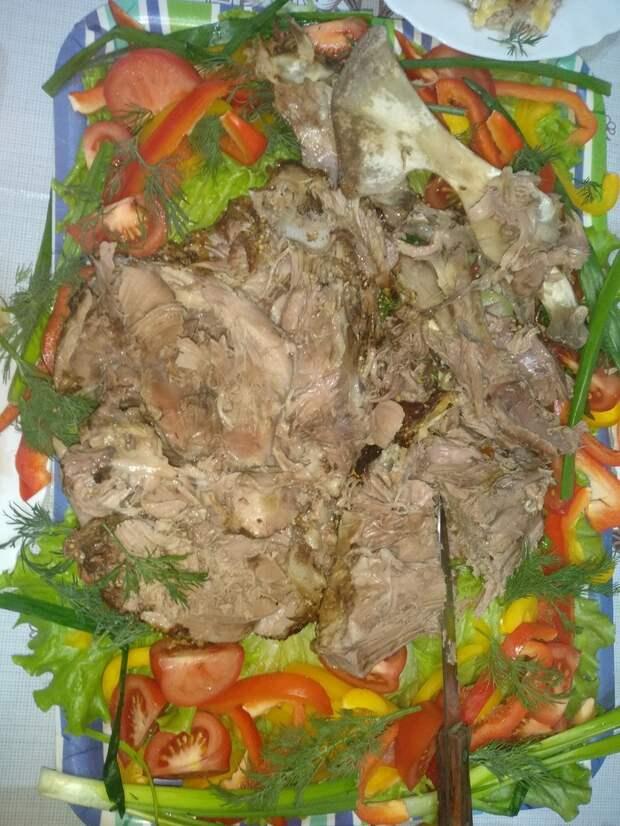 Запекаем баранину в духовке Мясо, Баранина, Кулинария, Мужская кулинария, Длиннопост