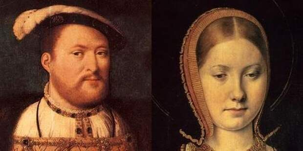 Генрих VIII Тюдор и Екатерина Арагонская
