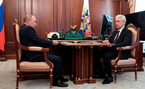Путин назвал Москву примером успешной борьбы с COVID-19