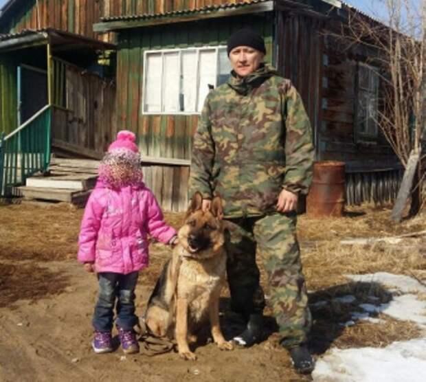В Якутии служебная собака рига нашла пропавшую в лесу девочку